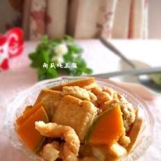 南瓜麻花炖豆腐