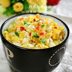 辣白菜蛋炒饭