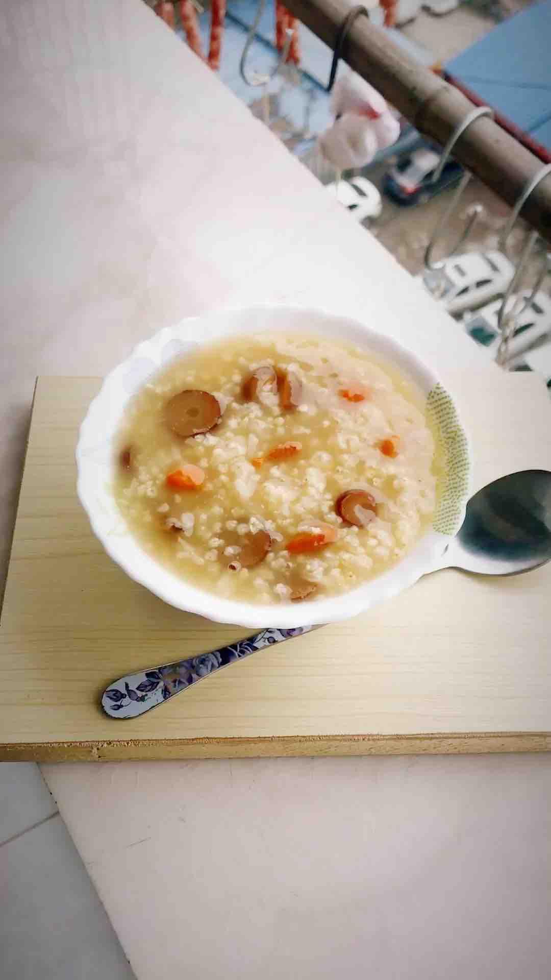 枣杞桂圆二米粥