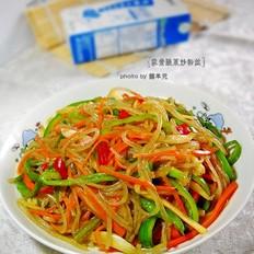 酸菜炒粉丝