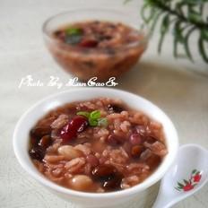 黑豆枣花糯米粥