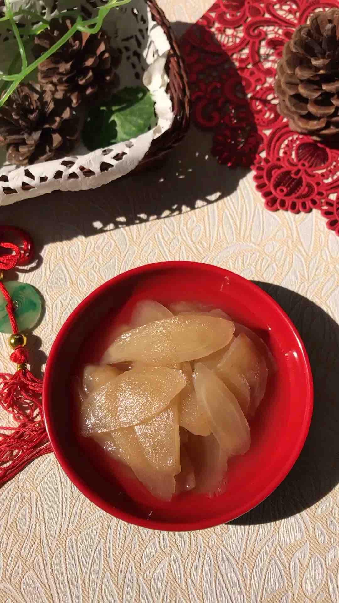 冰糖米醋姜片