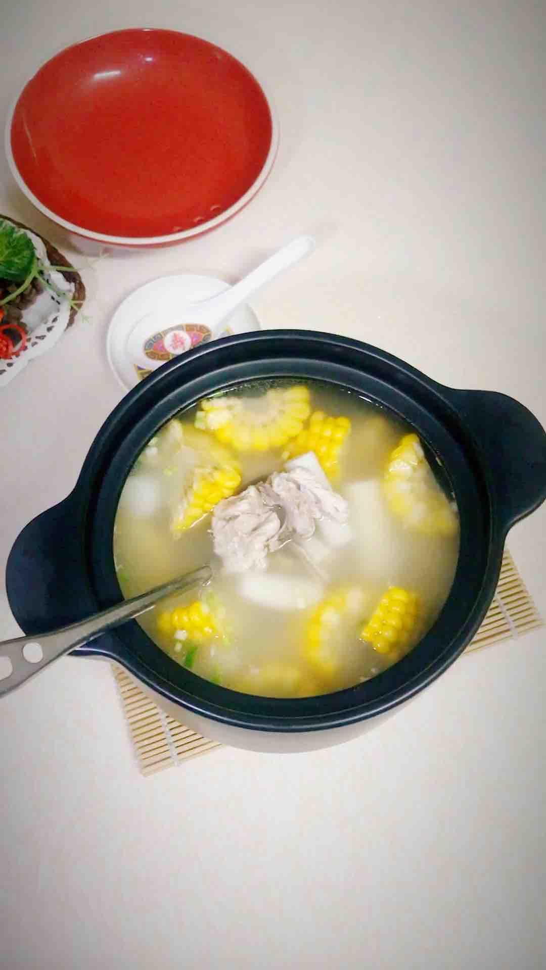 玉米山药脊骨汤