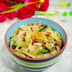 辣白菜肉丝炒米粉