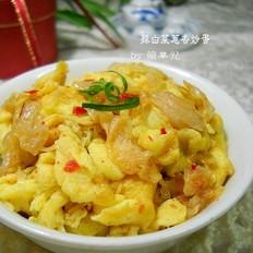 辣白菜炒鸡蛋