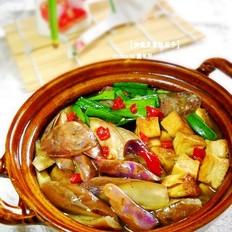 咖喱豆腐炖茄子