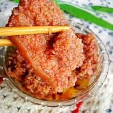 红薯粉蒸腐乳肉