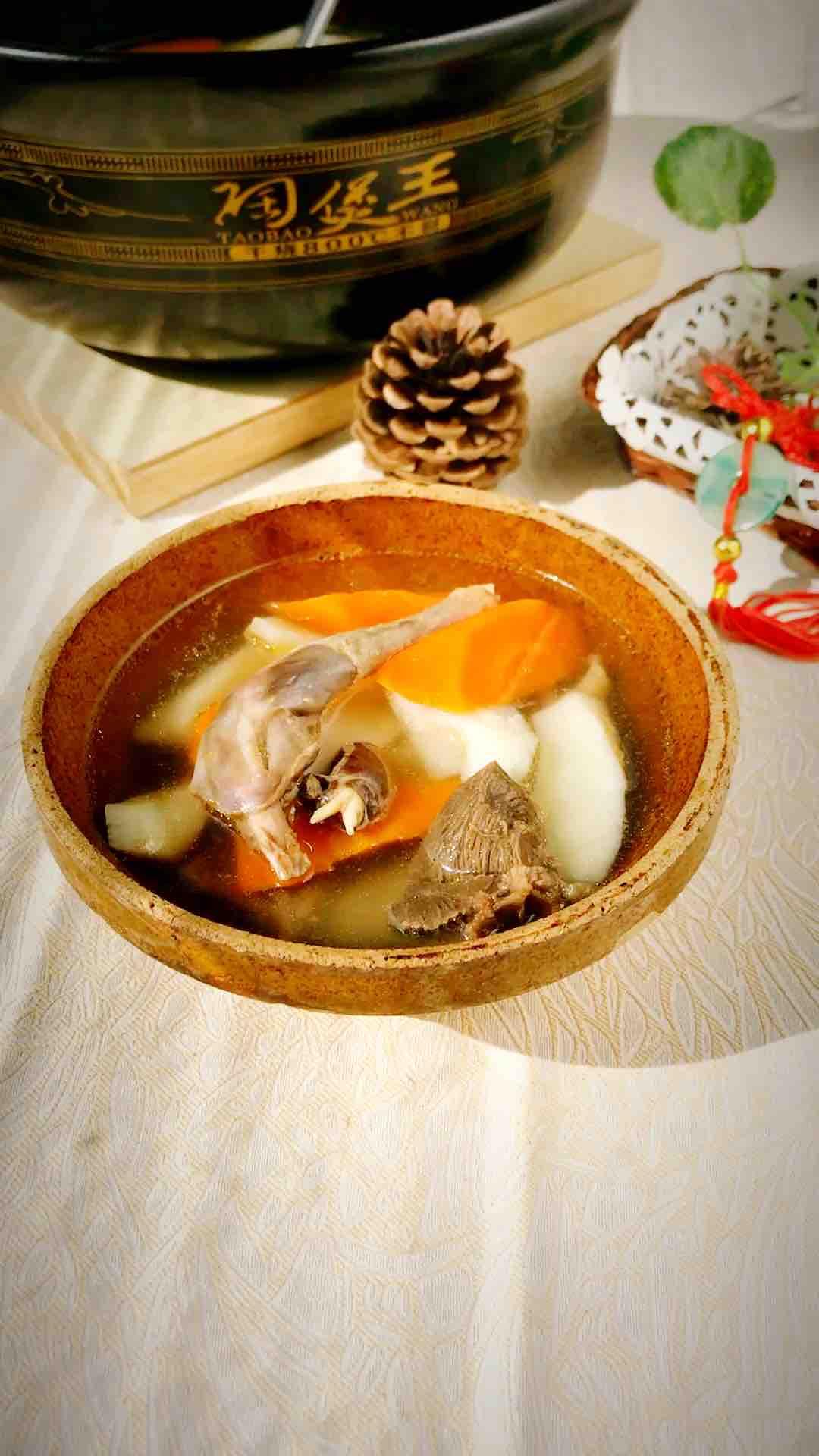 豆腐干子怎么做好吃山药胡萝卜炖乳鸽的做法
