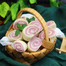 紫薯馒头卷
