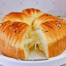 毛线球面包