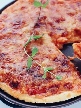 番茄龙利鱼披萨的做法