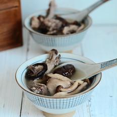 菌菇栗子鸡汤
