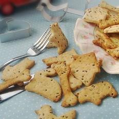 动物芝香饼干的做法
