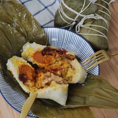 经典广式风味,咸蛋黄鲜肉粽