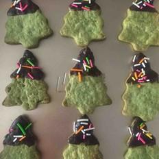 圣诞抹茶饼干