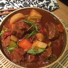 黑椒番茄汁炖牛肉