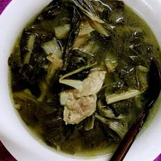 白菜干骨头汤