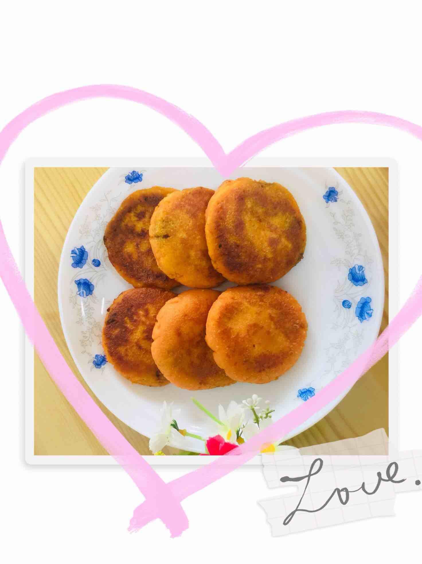 蜜薯糯米饼