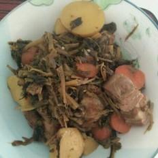 梅干菜烤五花肉