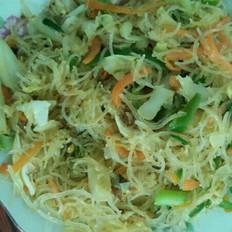 海鲜炒米线