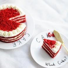 经典红丝绒蛋糕(Red Velvet Cake)