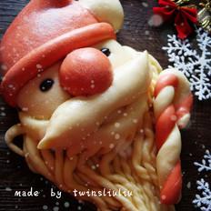 花样面食之圣诞老人
