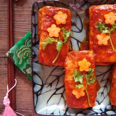 电饭煲版茄汁豆腐盒