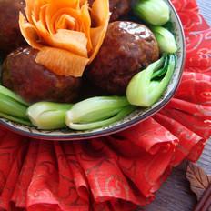 春节餐桌必备菜四喜丸子