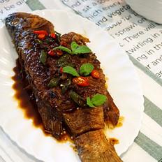 吃不腻的酱烧鲈鱼