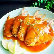 茄汁小鲳鱼