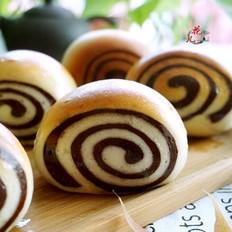 双色蜂蜜面包