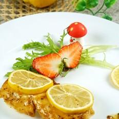 意式柠檬烤鳕鱼块