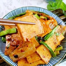 爆炒千叶豆腐