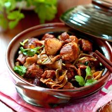 干扁豆烧肉