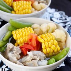 杂蔬排骨汤