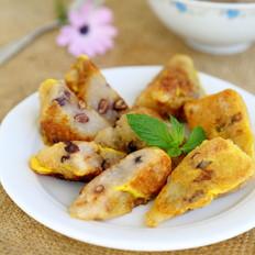鸡蛋煎粽子