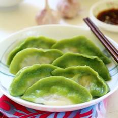 翡翠白菜水饺