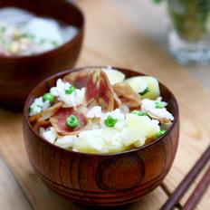 香肠土豆糙米焖饭