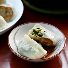 双韭海蛎煎饺
