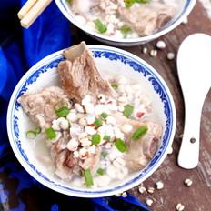 黄芪薏米排骨汤