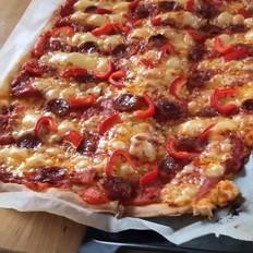 无筋面粉披萨