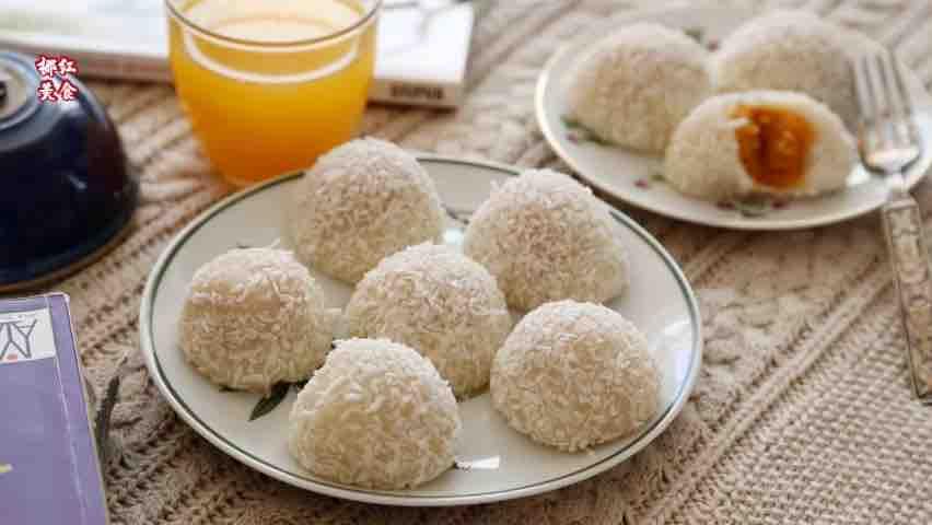 红薯糯米糍#七夕美食#