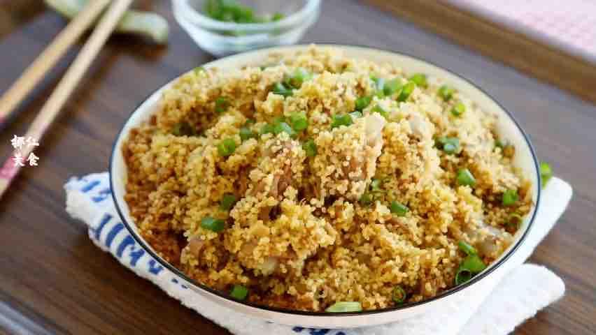 小米蒸排骨