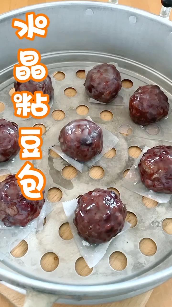 红豆蜜枣粘豆包