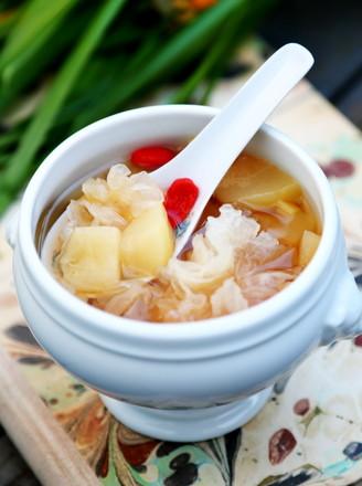 银耳陈皮生姜炖梨的做法