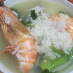 排骨大虾砂锅粥