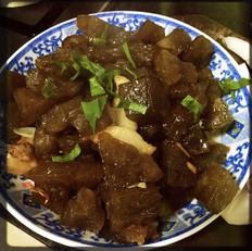 红薯粉炒肉