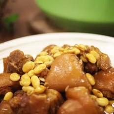 黄豆炖猪蹄