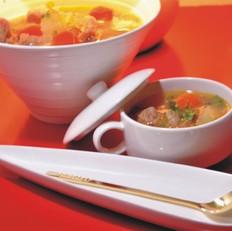 土豆西红柿牛腩汤