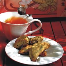 玄米茶月牙饼